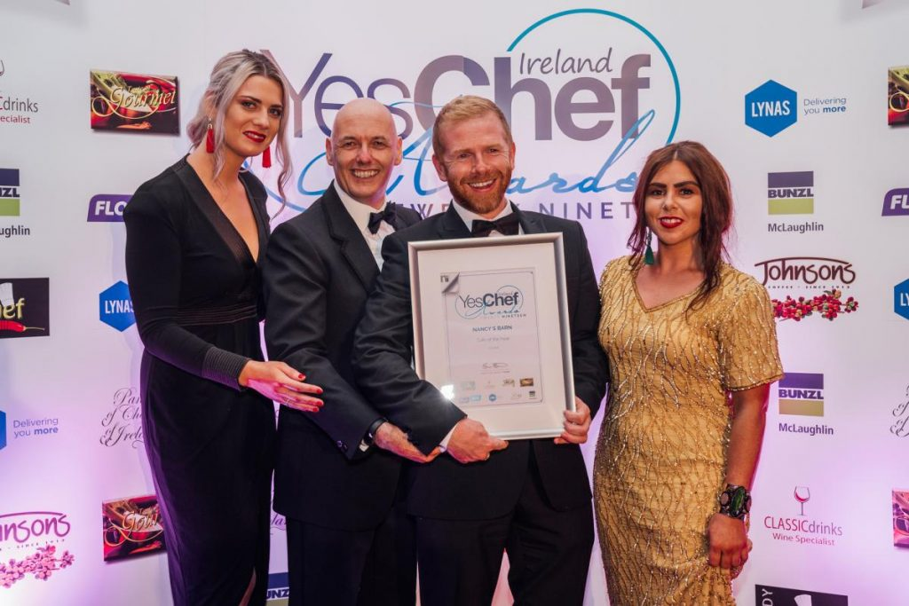 nancys barn yes chef award-Donegal Food TOurs