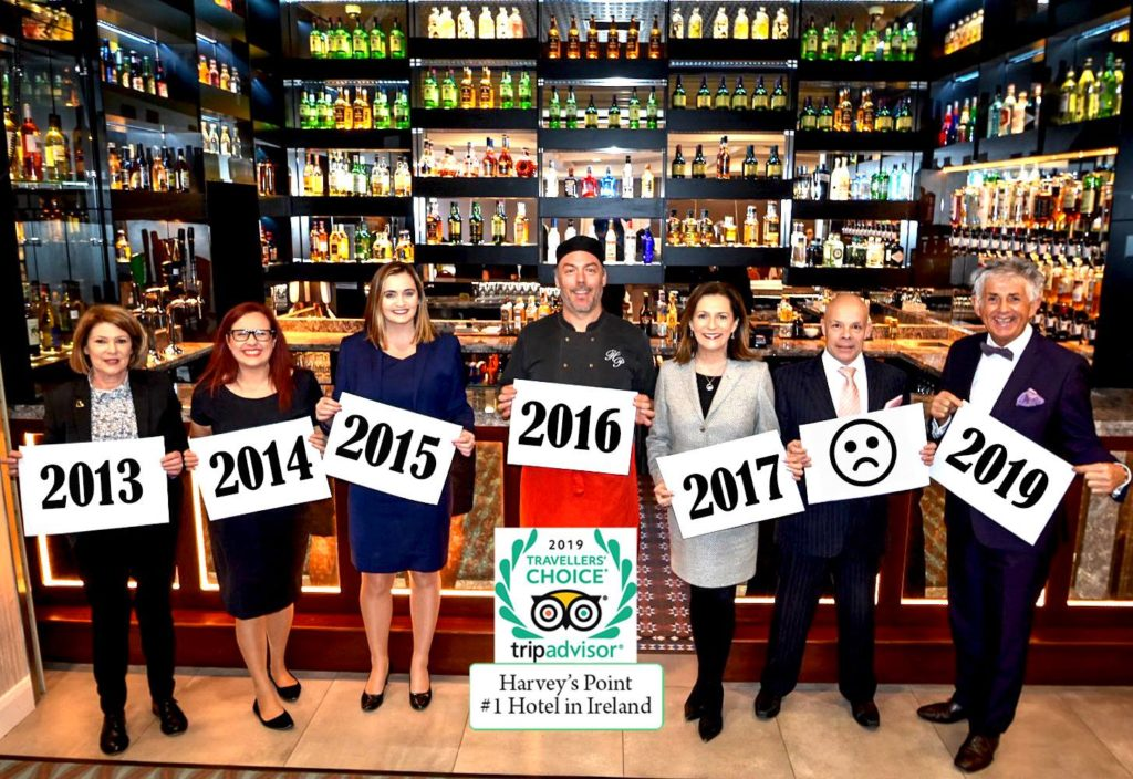harveys point hotel team-Donegal Food TOurs