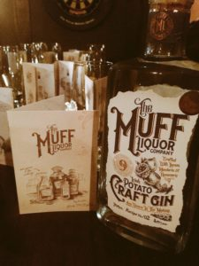 Muff Liquor being served at Noras Bar-Donegal Food TOurs