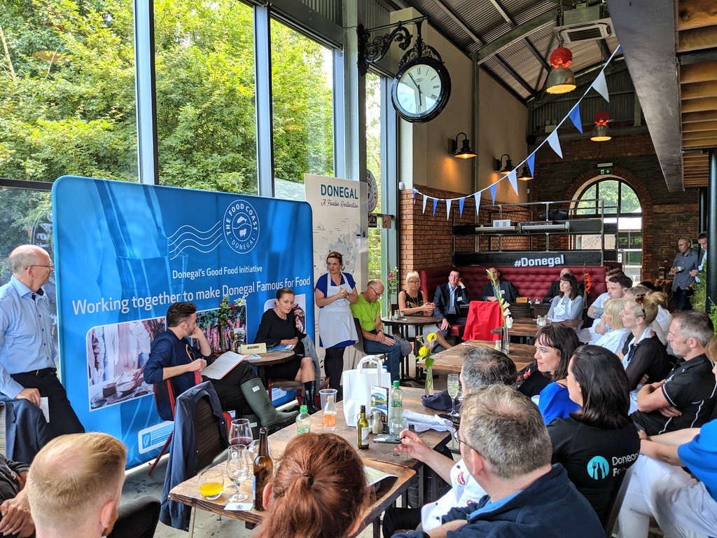 Donegal Food Coast presentation Irelands Foodie Destination-Donegal Food TOurs