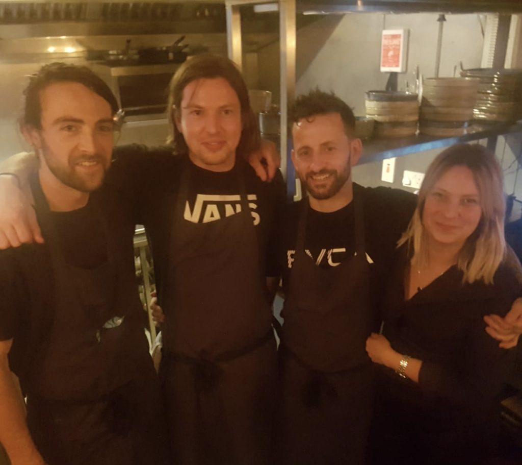 Joe Flanagan Ian Doyl Tony Davidson Lina Reppert-Donegal Food TOurs