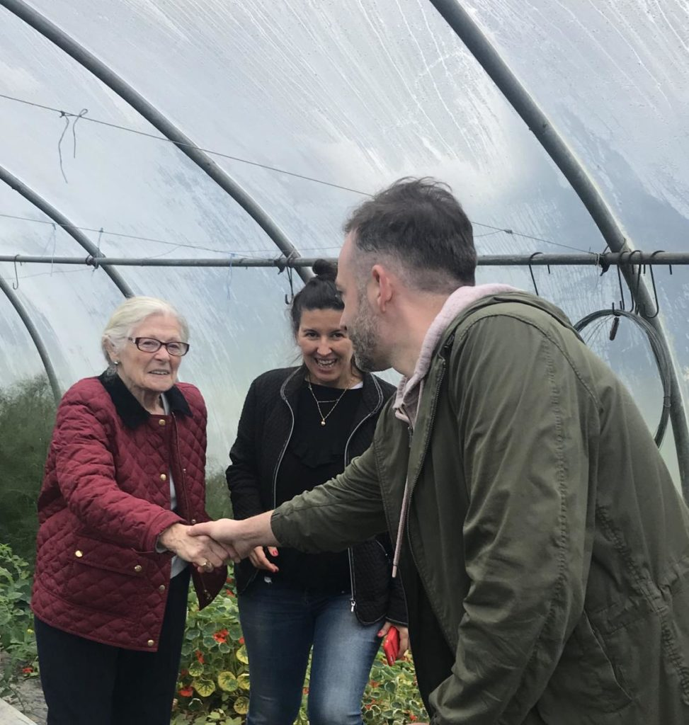 Anthony OToole Mary T Sweeney and Manuela Spinelli-Donegal Food TOurs