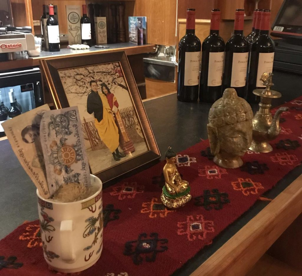 Bhutanese themed decoration-Donegal Food TOurs