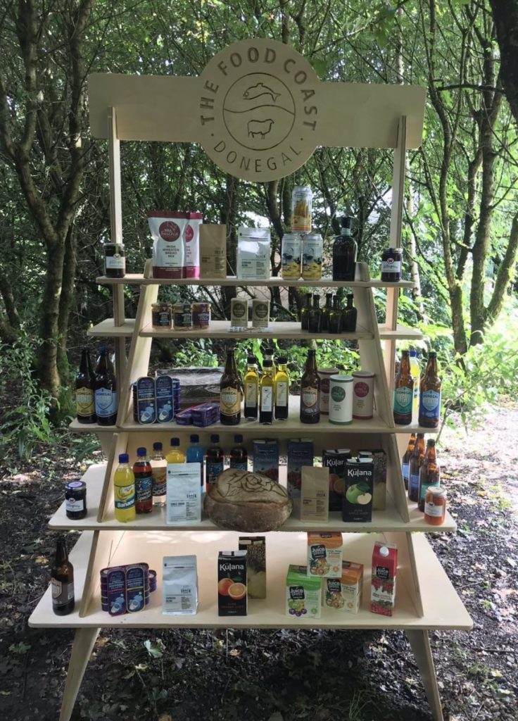 Donegal produce and products display 1-Donegal Food TOurs