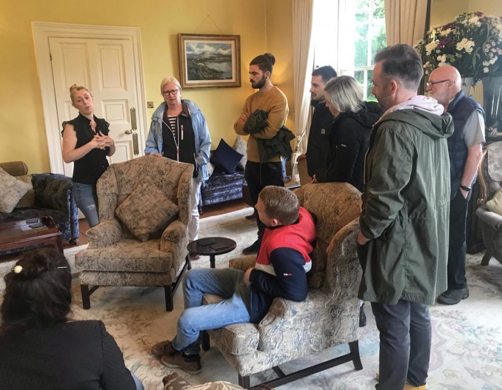Euro Toques Chefs at CastleGrove Country House with GM Karoline Sweeney-Donegal Food TOurs