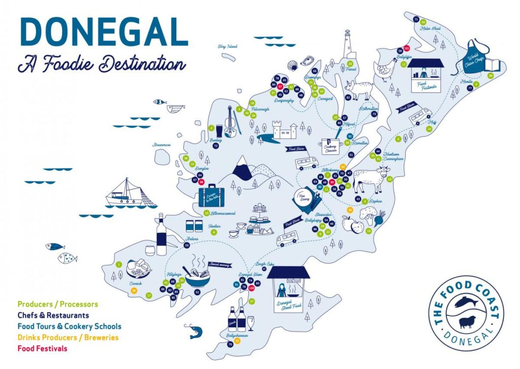 FC Foodie Destination A4 AW 1-Donegal Food TOurs