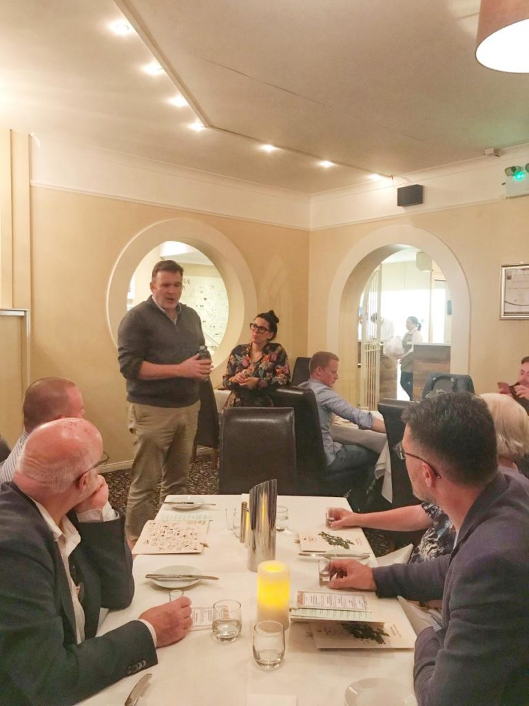 James Doherty from Sliabh Liag Distillers-Donegal Food TOurs