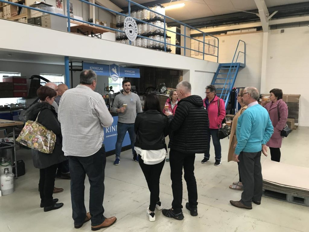 Limavady Chamber Members at Kinnegar Brewing-Donegal Food TOurs