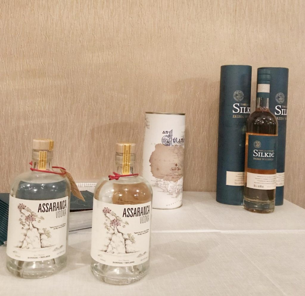 New Assaranca Vodka from Sliabh Liag Distillers-Donegal Food TOurs