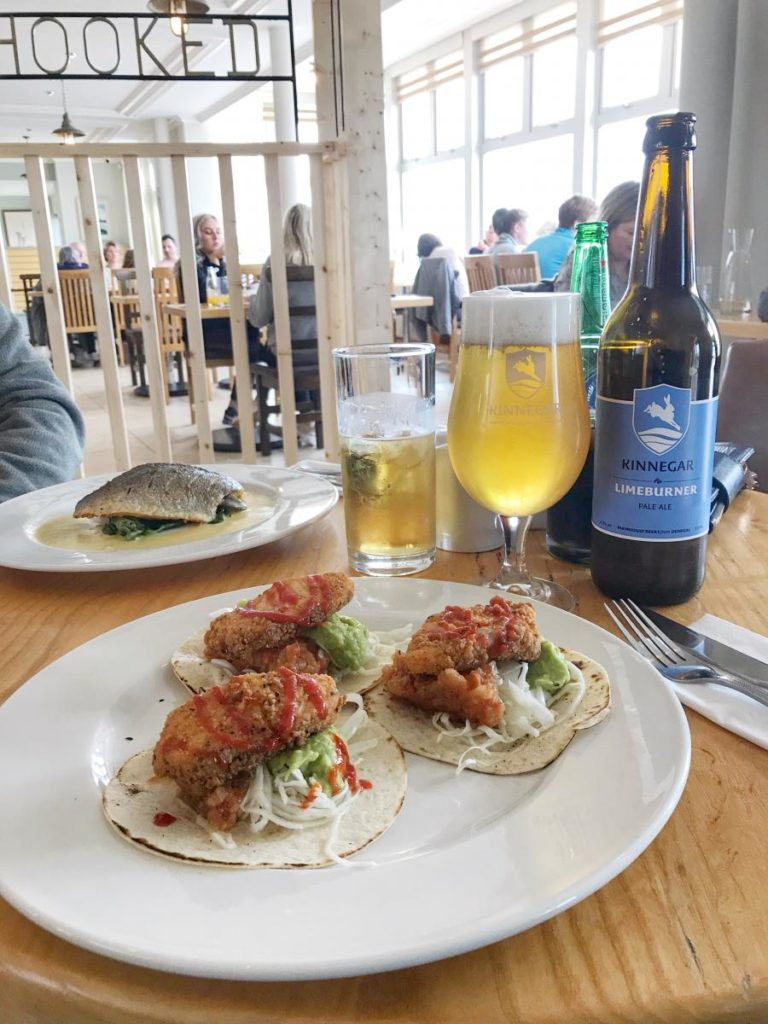 Sole and Fish Tacos at Hooked-Donegal Food TOurs