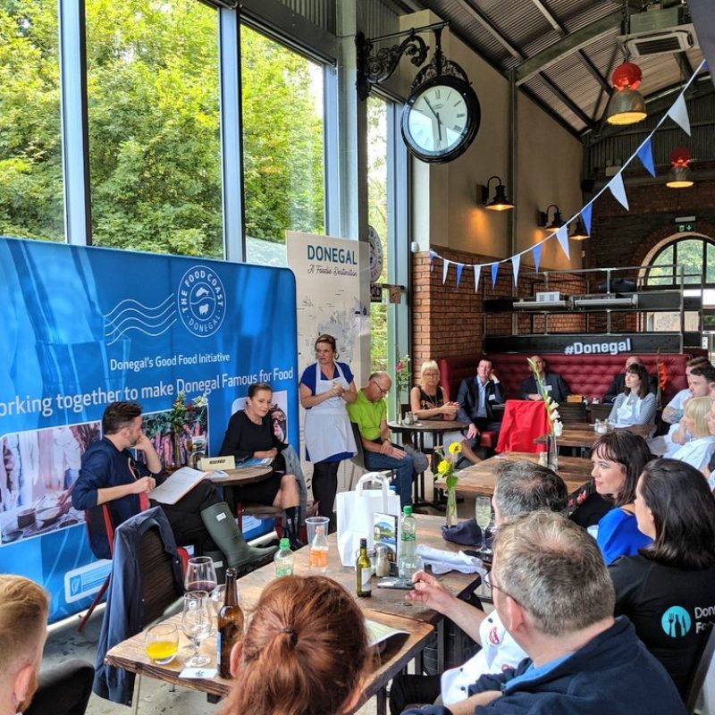 Donegal Food Coast presentation - Irelands Foodie Destination