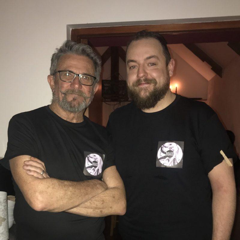 Geoff Milson and Alan McHugh